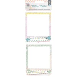 Color Wash Frames Pink Paislee