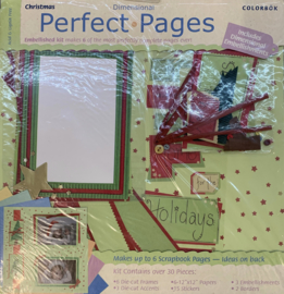 Perfect Pages Christmas 12x12 - Colorbok