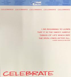 Celebrate (Transparency)