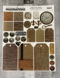 Layer it On Textures - Creative Imaginations