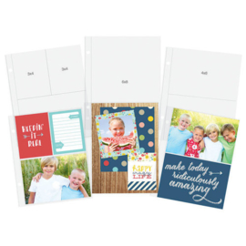 6x8 Sn@p Pocket Pages Variety Pack