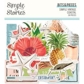 Simple Vintage Coastal Bits & Pieces - Simple Stories