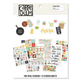 Sticker Tablet - Recipe Collection