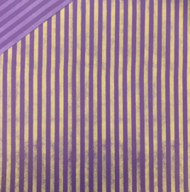 Royal Purple Elegant Stripe - Printworks