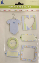 Rob and Bob Studio Baby Boy Accessories - Provo Craft