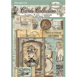 Voyage Fantastiques Cards - Stamperia