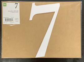 """7 Chipboard Numbers 8"""" - Making Memories"""