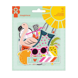 Sunny Die-Cut Shapes American Craft Imaginisce
