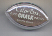 Cat's Eye Chalk Ink Creamy Brown - Colorbox