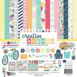 Creative Agenda by Kaitlin Sheaffer 12x12 Kit - Echo Park