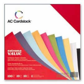 Textured Cardstock Extreme Value Pack - AC