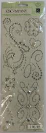 Adhesive Gems Elegance Swirl - K & Company