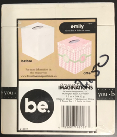 Be. Emily Tissue Box