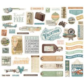 Bits & Pieces - Simple Vintage Traveler Collection