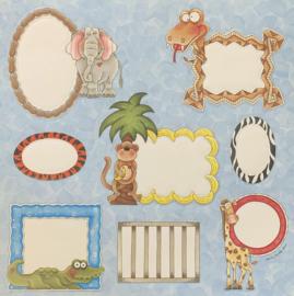 Die-Cut Sheet Zoo - Provo Craft
