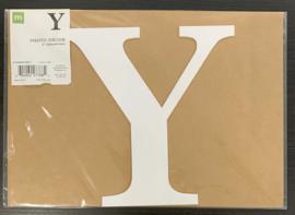 """Y Chipboard Letters 8"""" - Making Memories"""