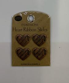 Precious Heart Ribbon Slide - AMM