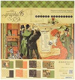 Master Detective 8x8 Paper Pad Graphic 45