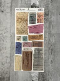 Old Ticket Stubs - Karen Foster