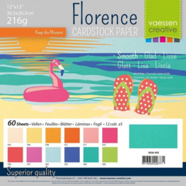 Smooth Cardstock Paper Summer - Florence