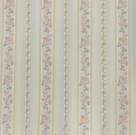 Bouquet Stripes Glitter Paper - K & Company