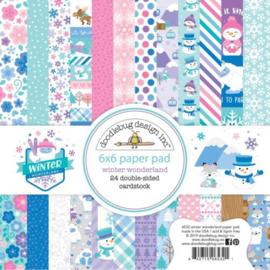 Winter Wonderland 6x6 Paper pad - Doodlebug