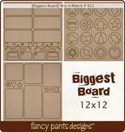 Chipboard Die-cuts Mix-n-Match 12x12