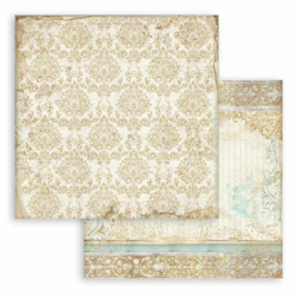 Sleeping Beauty Texture Gold - Stamperia