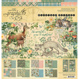 Woodland Friends Collection Pack 12x12 - Graphic 45