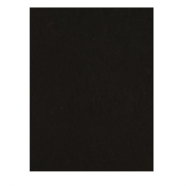 Smooth Black Cardstock A4 (x100) - Florence