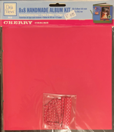 8x8 Handmade Album Kit Cherry - Deja Views