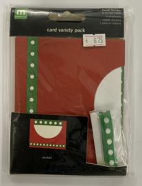 Pocket Holiday Card Variety Pack - Making Memories