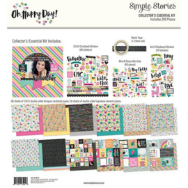 Collector's Essential Kit Oh Happy Day - Simple Stories