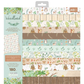 Woodland Friends 12x12 paper pad - Crafter's Companion