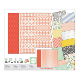 Album Kit 12x12 Post Bound Farmers Market We R Memory Keepers