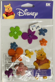 Pooh with Button Flowers - EK Succes