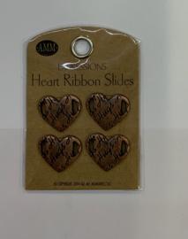 Hugs Heart Ribbon Slide - AMM