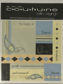 Couture Satin Sayings Suave - AMM