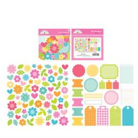 Cute & Crafty Bits & Pieces Bright - Doodlebug