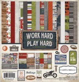 Work Hard 12x12 Kit - Carta Bella