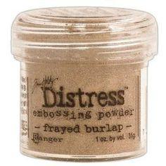 Distress Powder Frayed Burlap
