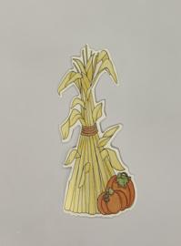 Corn Stalks - My Mind's Eye