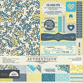 Favorite 12x12  Paper Kit - Authentique