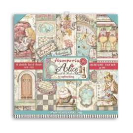 Alice Through the Looking Glass 8x8 Paper Pack - Stamperia