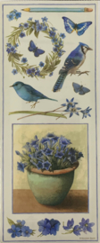 Naturally Blue by Marjolein Bastin - Colorbok
