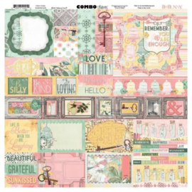 Combo Stickers - Sunshine Bliss Collection Bo Bunny