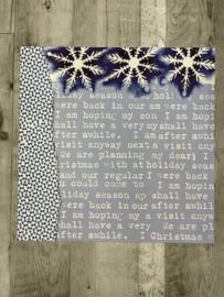 Christine Adolph Snowflake & Text - Creative Imaginations