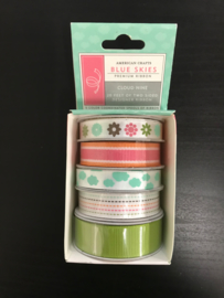 Blue Skies Double Sided Ribbon