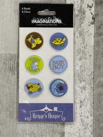 Renae Lindren Baby Ben Brads - Creative Imaginations