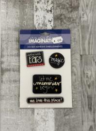 Embellishments Disney Magic - Creative Imaginations